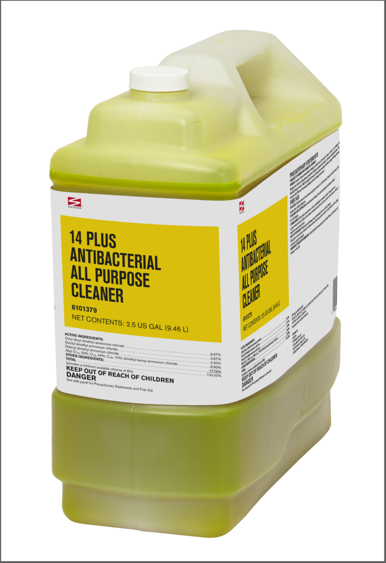 Swisher 14 Plus Antibacterial All Purpose Cleaner