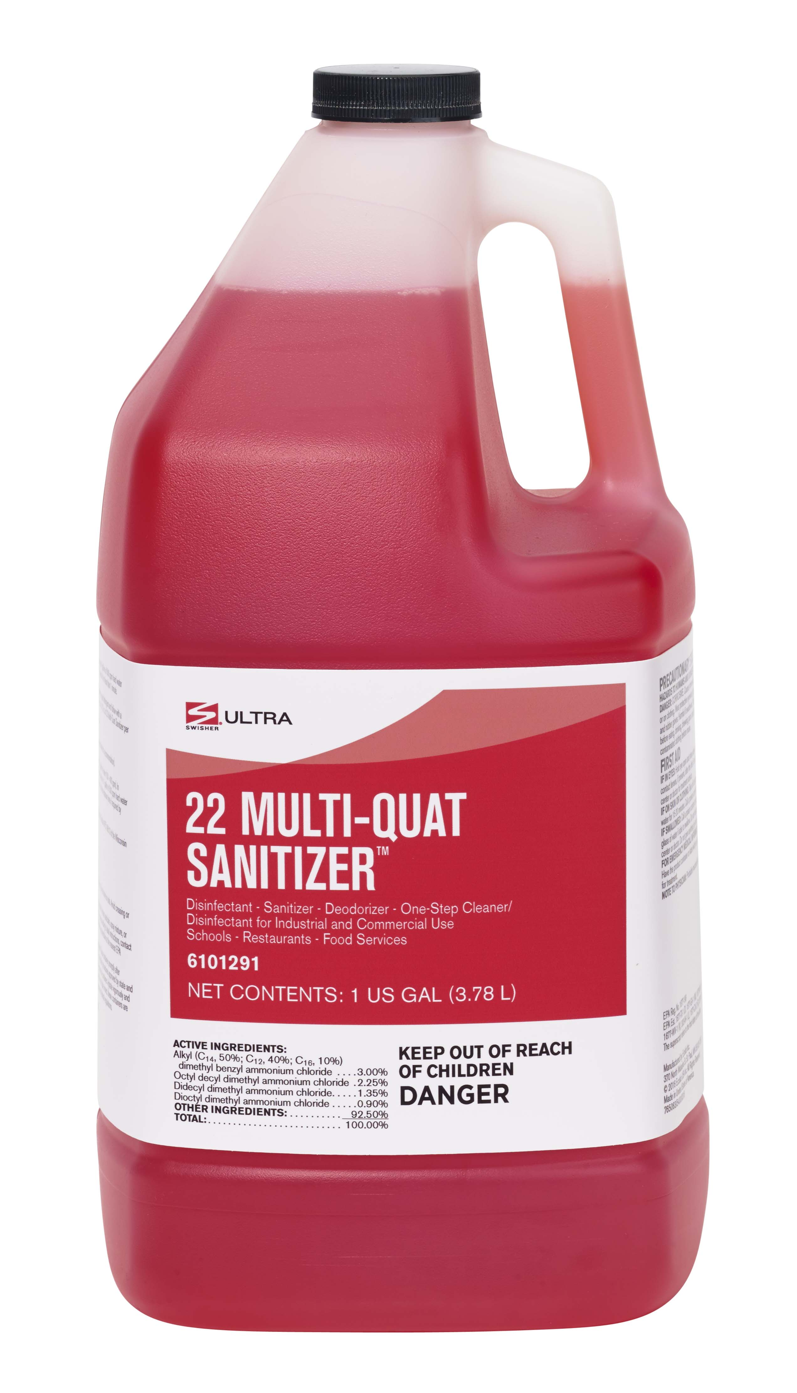 Swisher 22 Multi Quat Sanitizer Ultra