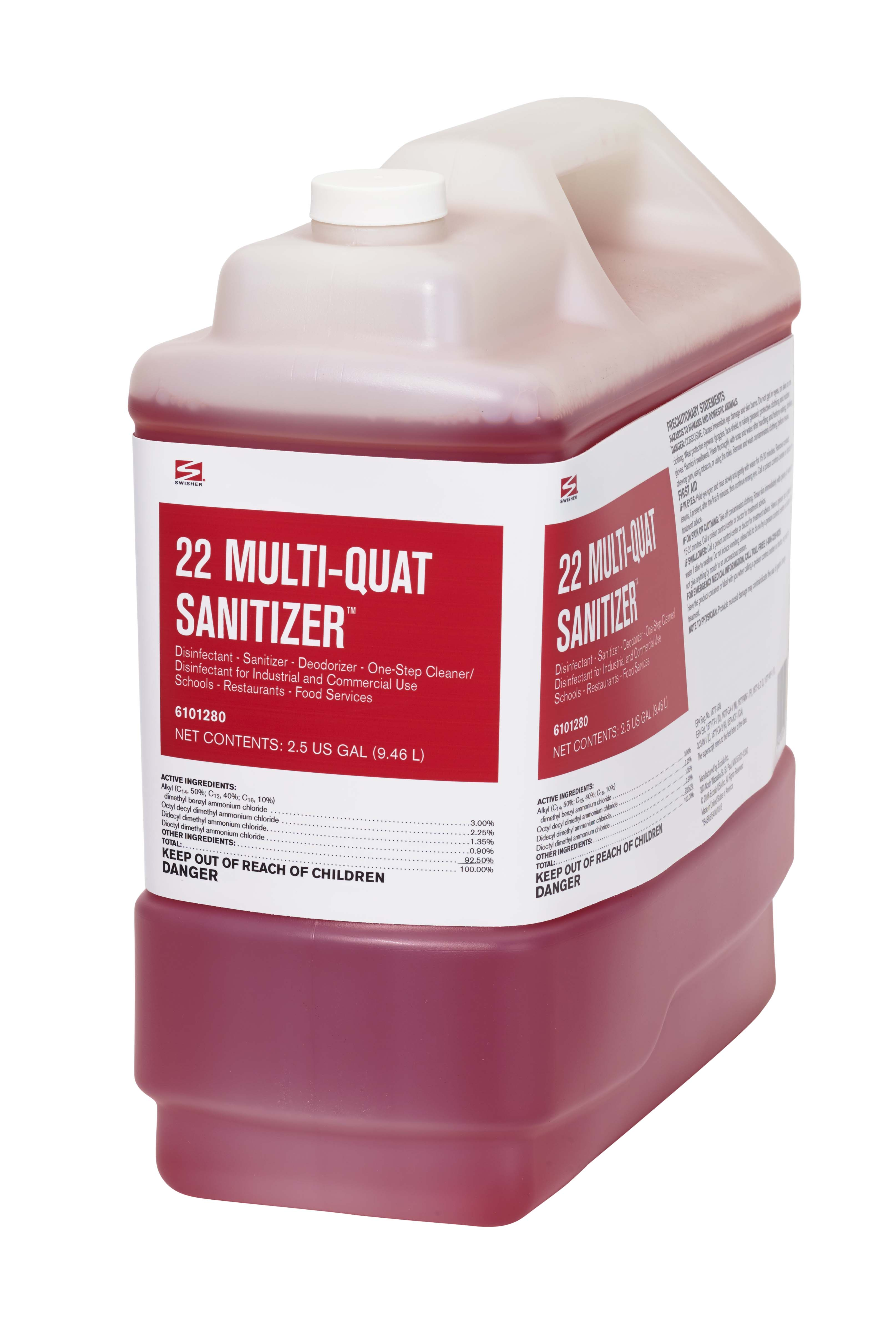 Swisher 22 Multi Quat Sanitizer