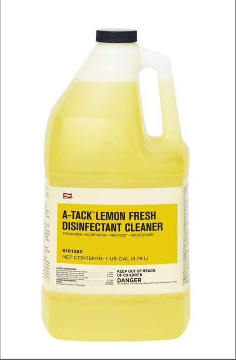 Swisher A Tack Lemon Fresh Disinfectant Cleaner