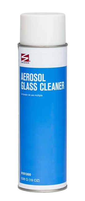 Swisher Aerosol Glass Cleaner