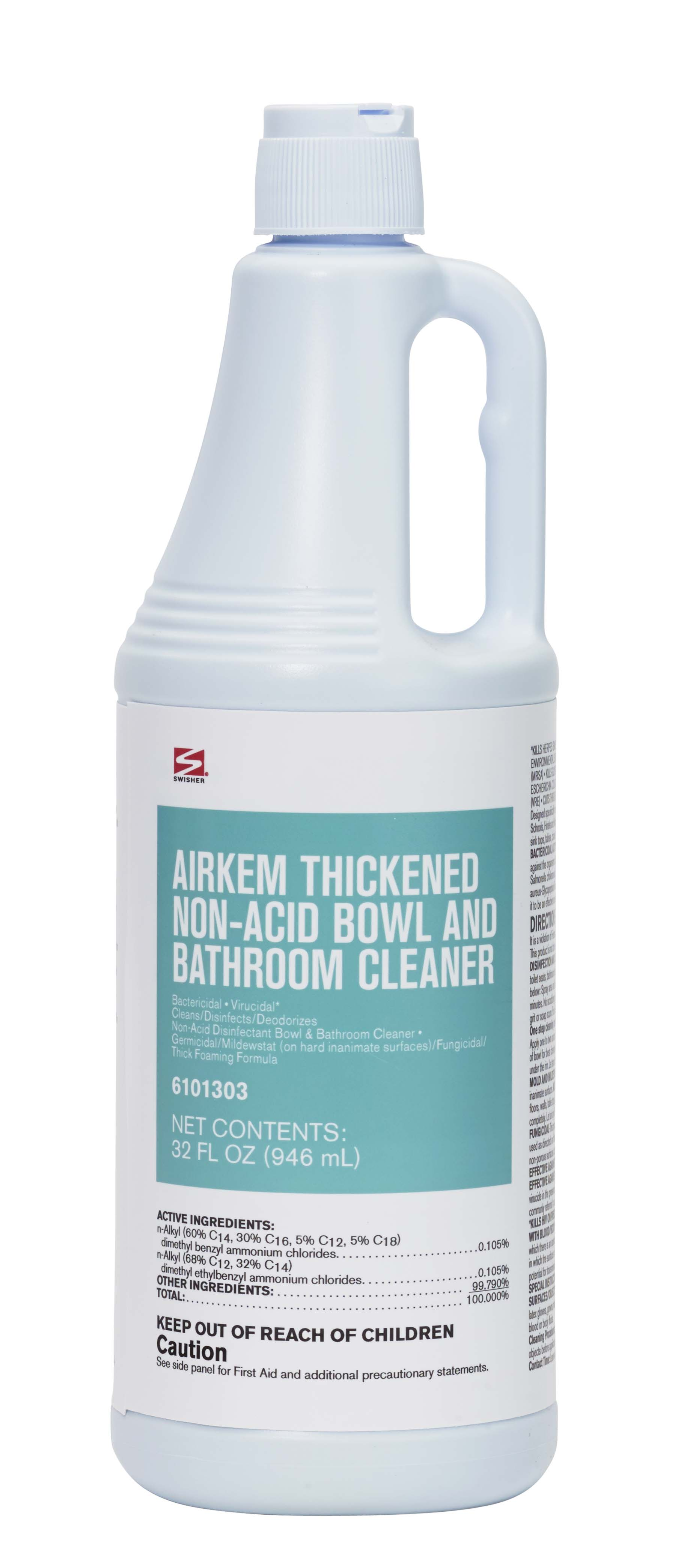Swisher Airkem Thickened Non Acid BowlBathroom Cleaner