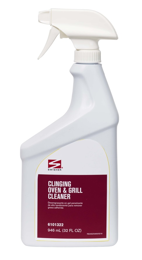Swisher Clinging Oven Grill Cleaner