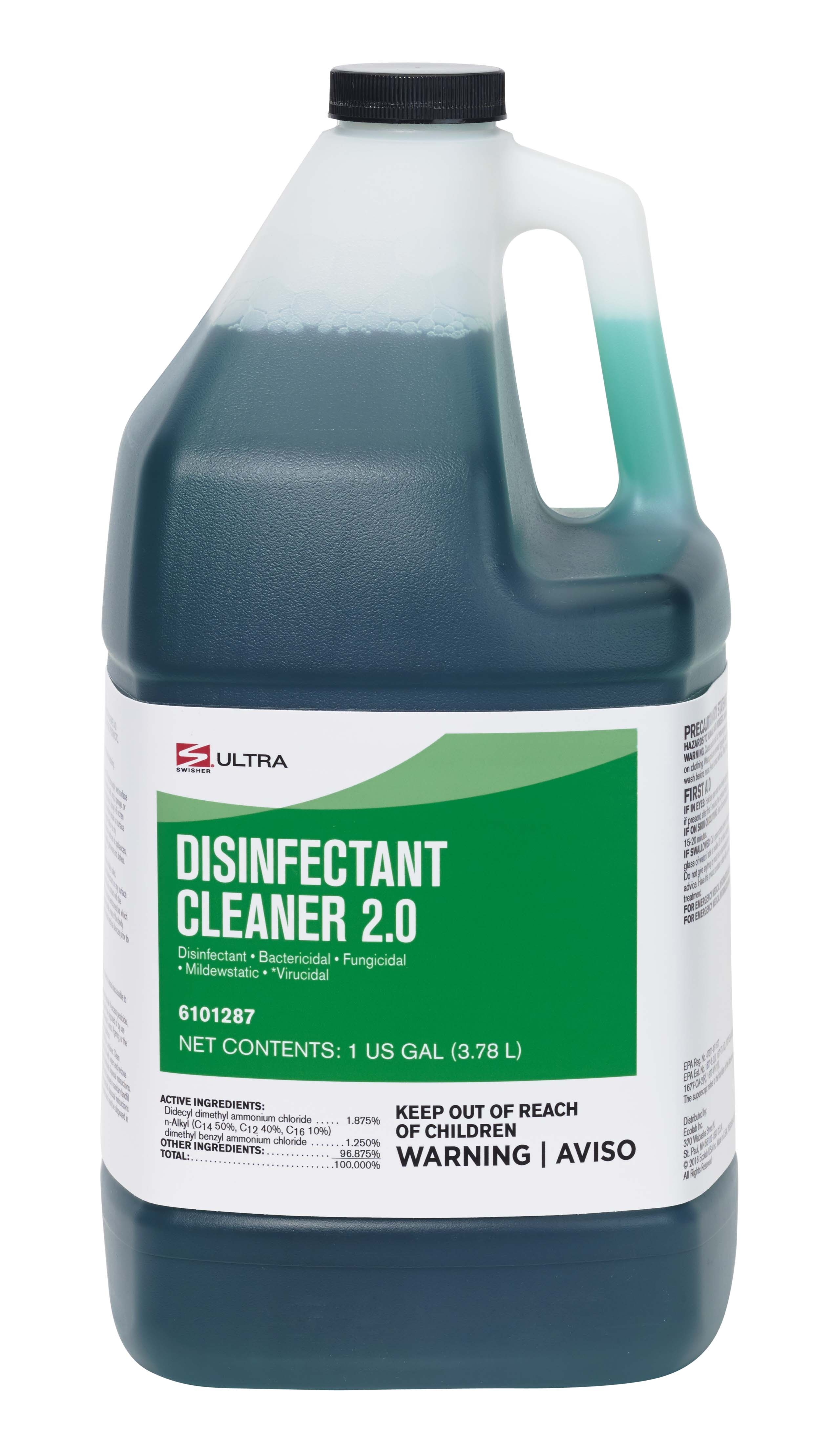 Swisher Disinfectant Cleaner 20 Ultra