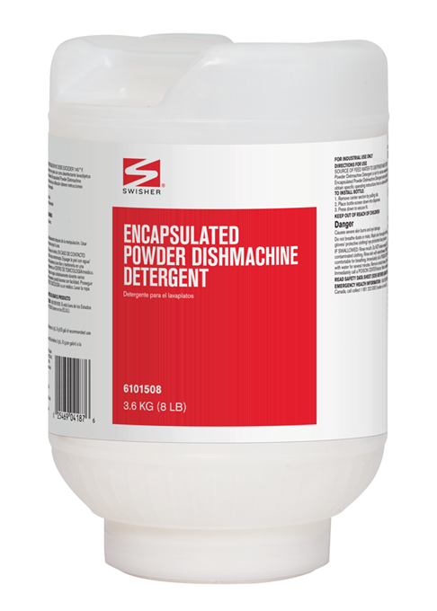 Swisher Encapsulated Powder Dishmachine Detergent