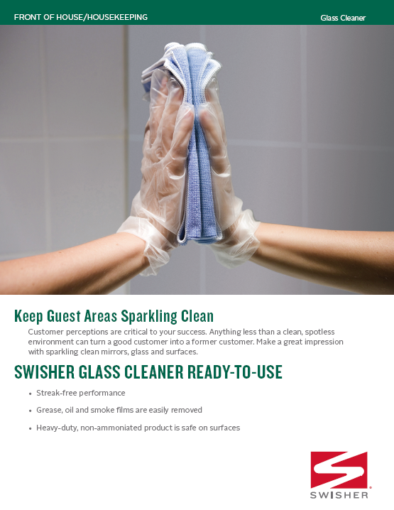 Swisher Glass Cleaner
