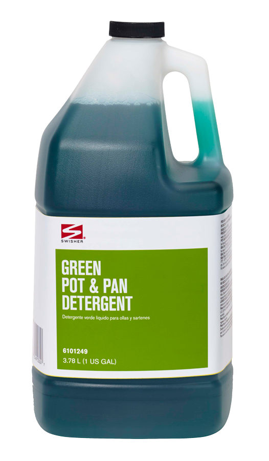 Swisher Green Pot Pan Detergent