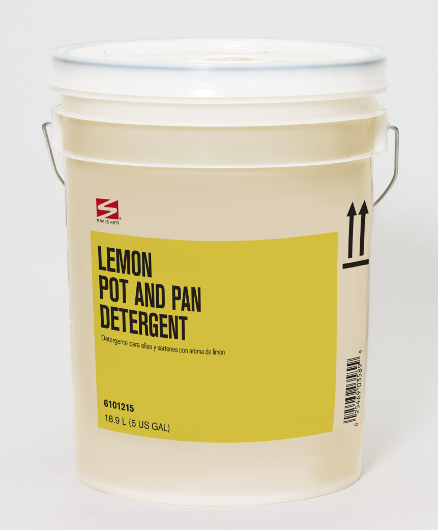 Swisher Lemon Pot and Pan Detergent