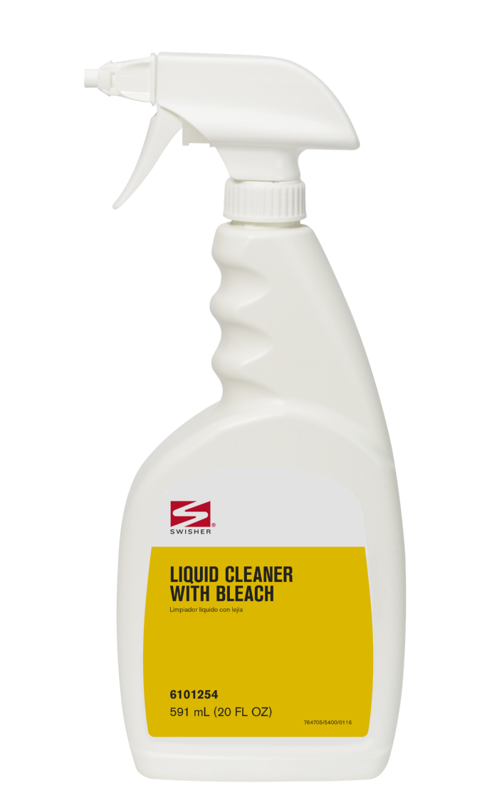 Swisher Liquid Cleaner with Bleach