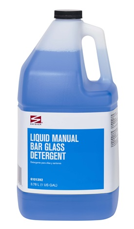 Swisher Liquid Manual Bar Glass Detergent