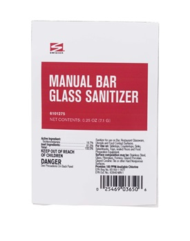 Swisher Manual Bar Glass Sanitizer