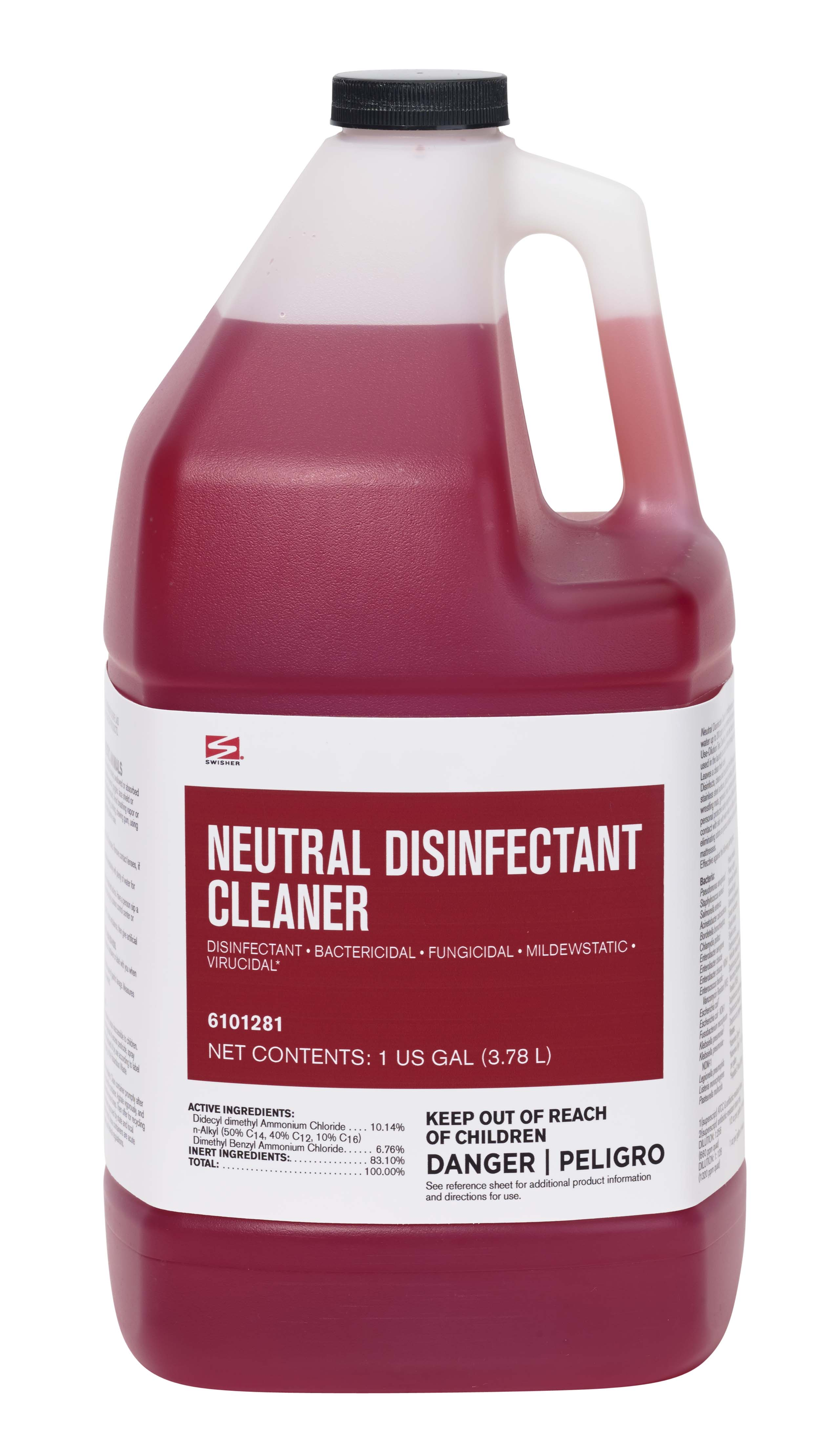 Swisher Neutral Disinfectant Cleaner