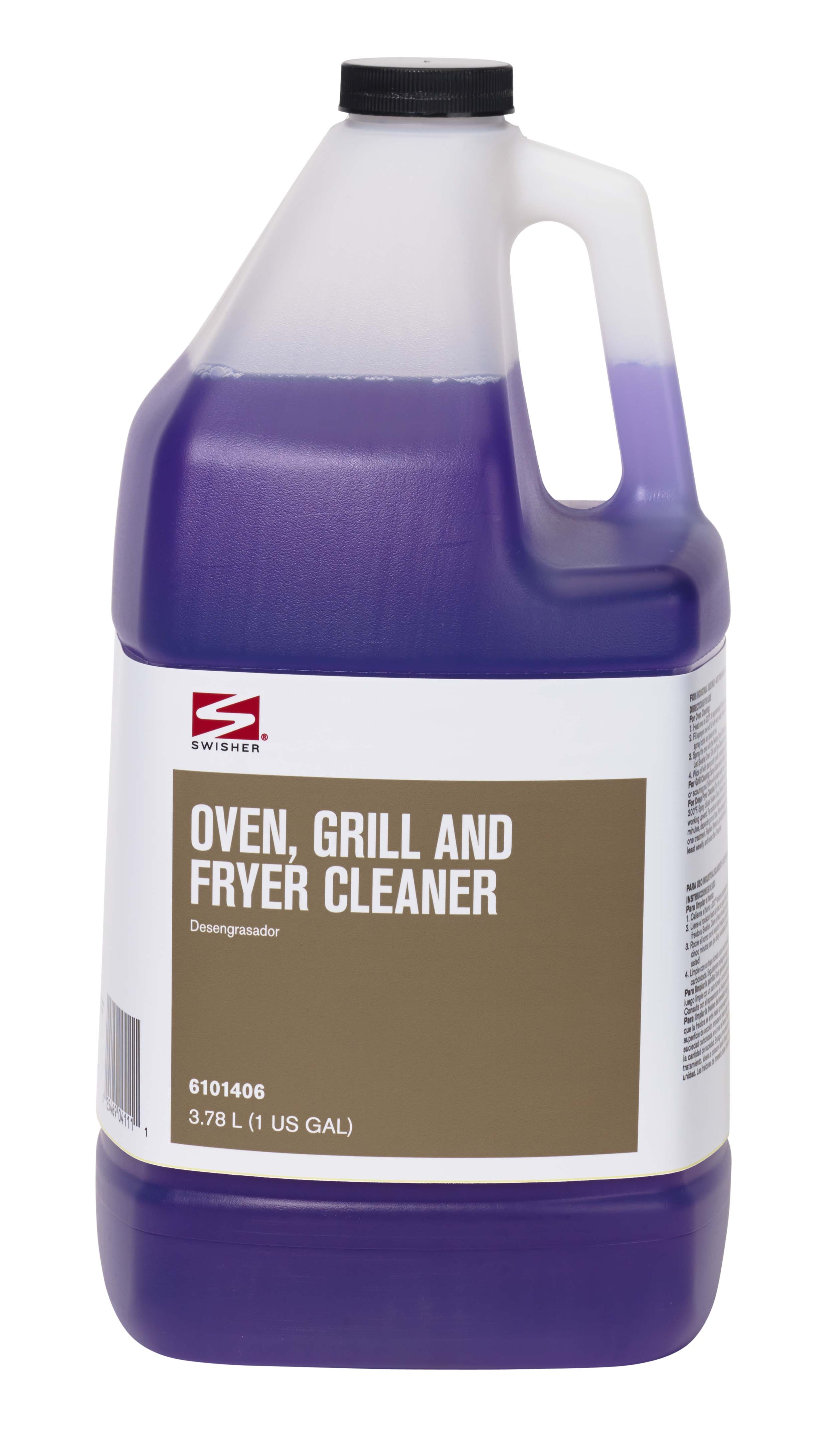 Swisher Oven Grill and Fryer Cleaner