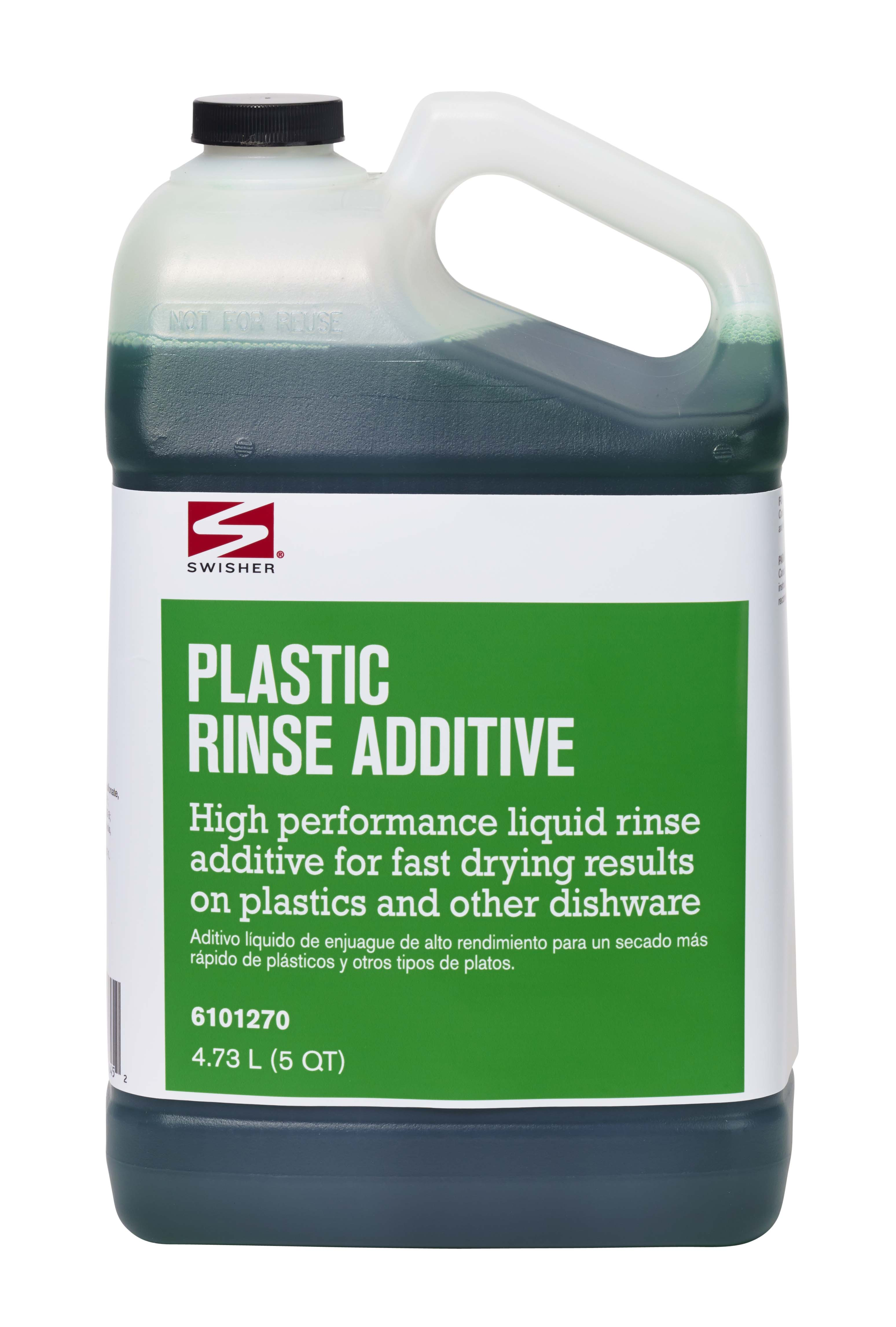 Swisher Plastic Rinse Additive