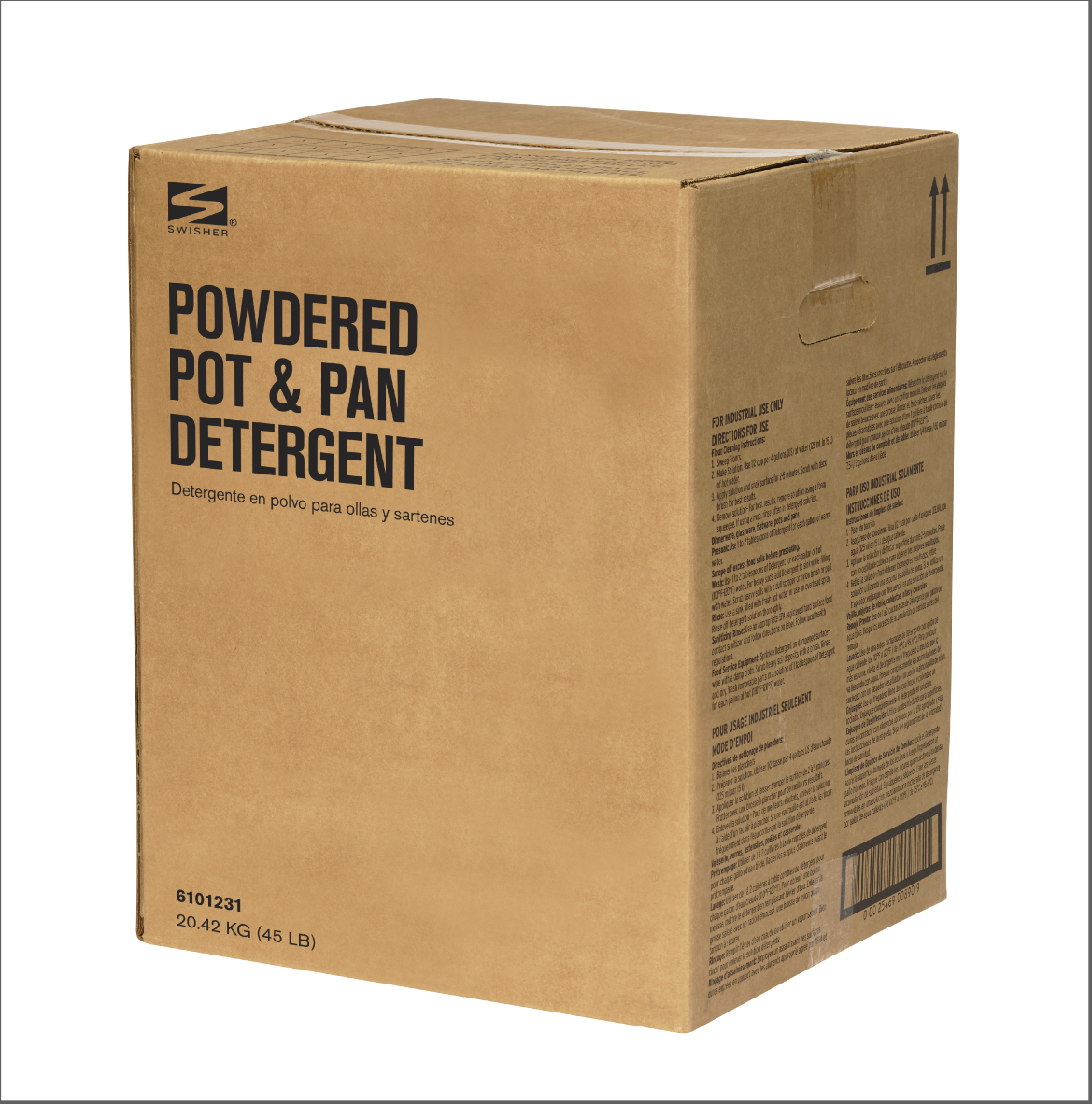 Swisher Powdered Pot and Pan Detergent