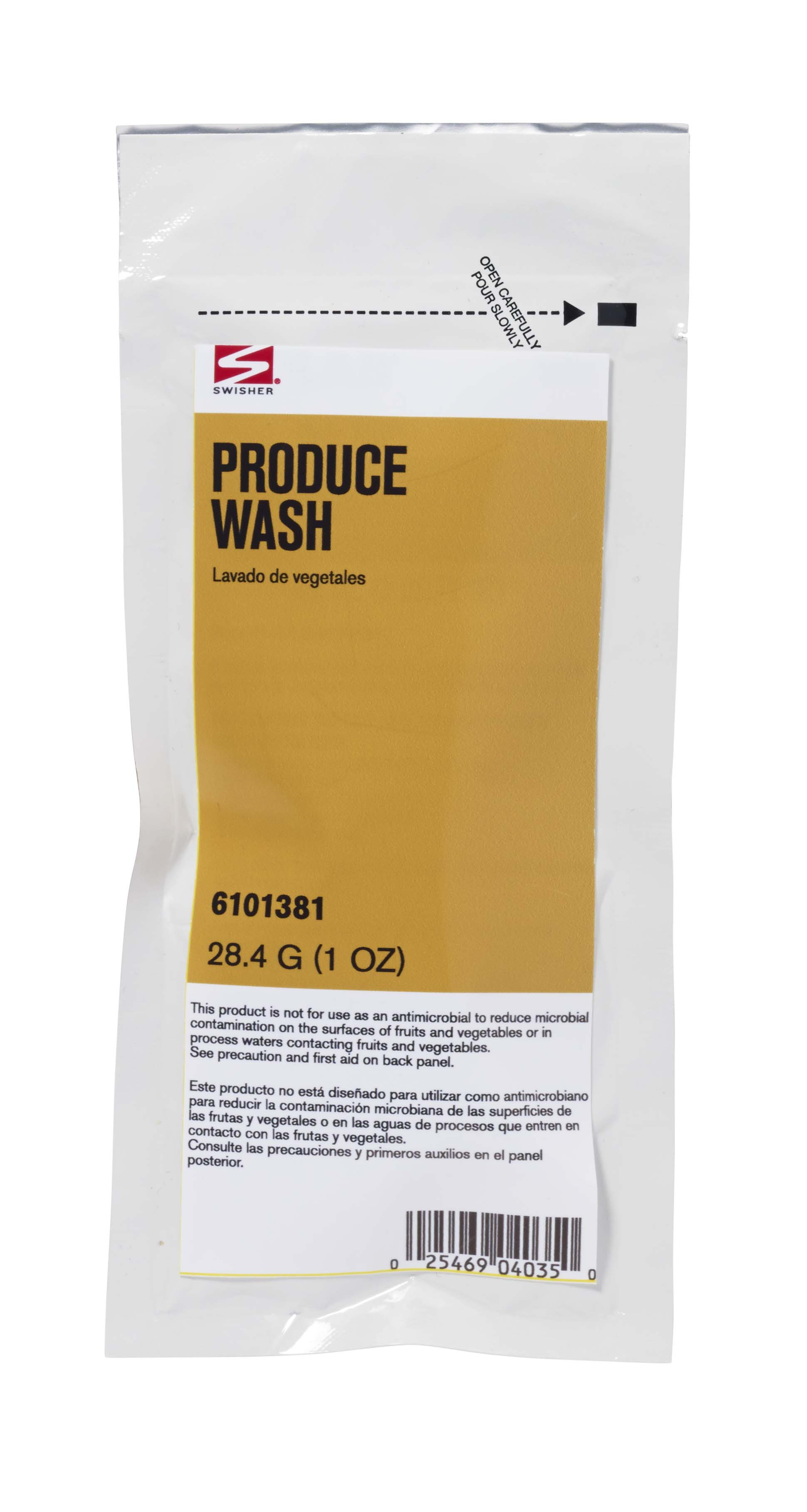 Swisher Produce Wash