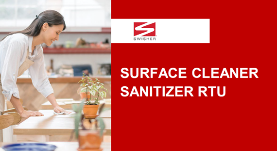 Swisher Surface Cleaner Sanitizer RTU Program Overview